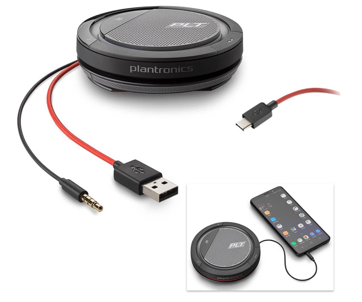 Poly / Plantronics Calisto Speakerphone 5200