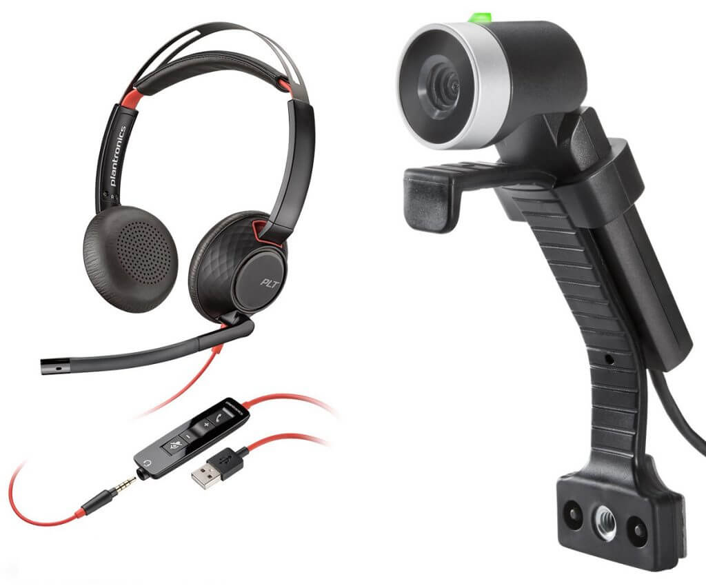 Webinar Professional Kit HD Cam with Stereo Headset