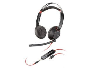 Poly - Plantronics Headset C5220 USB C Stereo